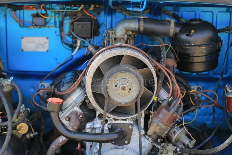 Двигатель автомобиля ZAZ-965 стоковые изображения rf