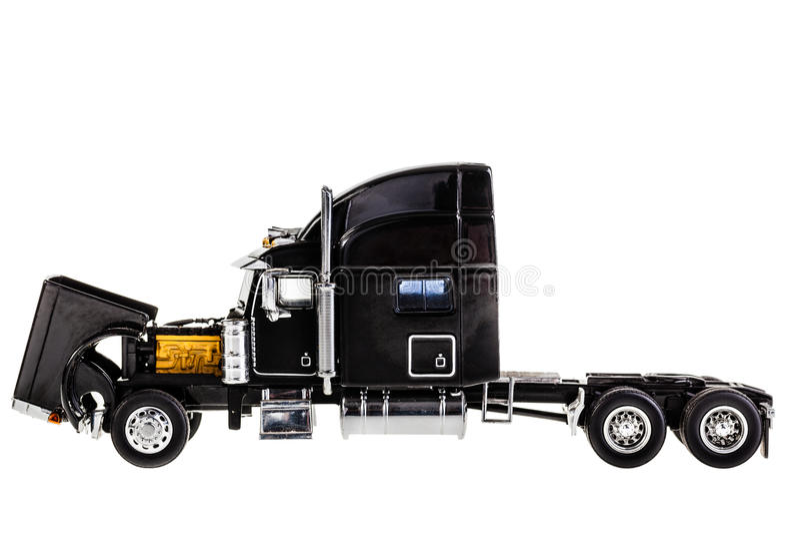 Двигатель грузовика стоковое фото