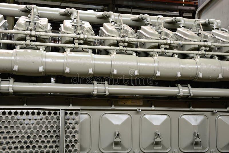 Двигатель дизеля стоковая фотография