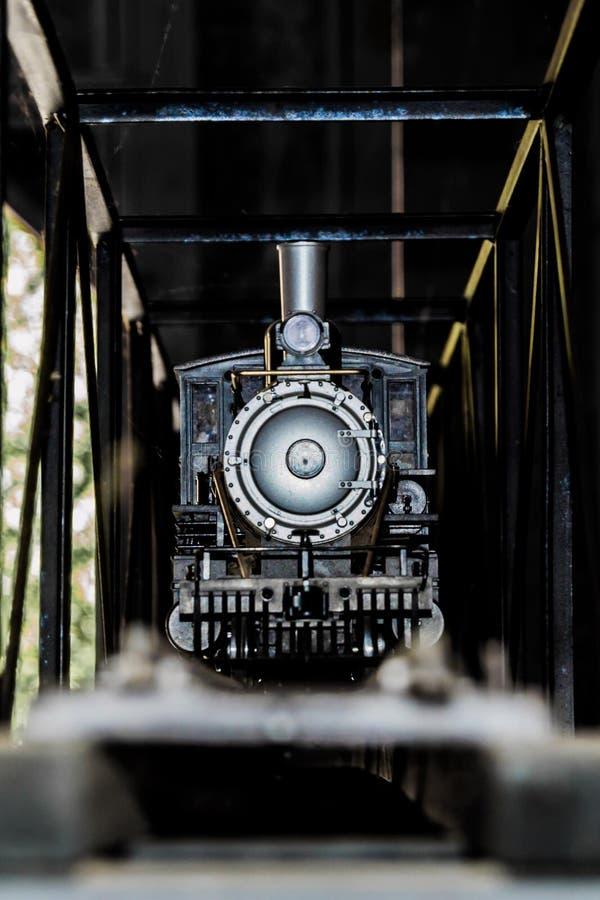 Двигатель поезда игрушки стоковое изображение rf