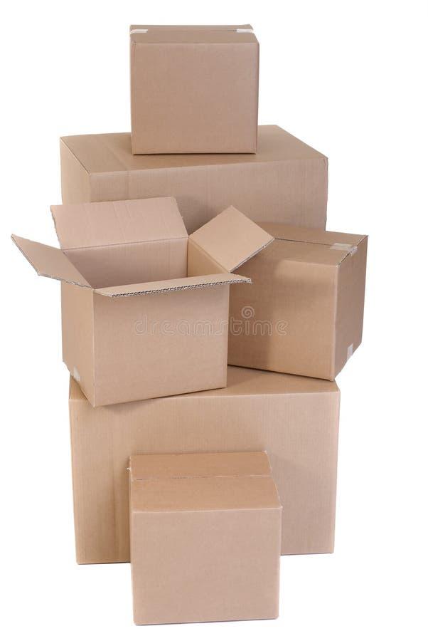 двигать коробок стоковые фото
