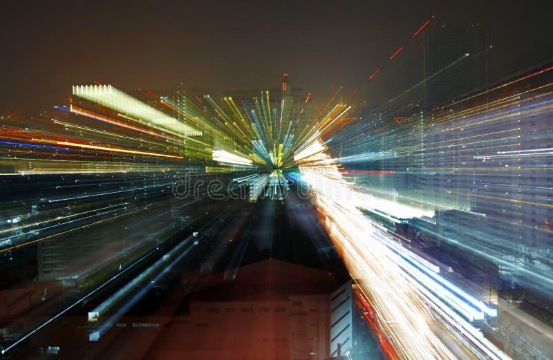 двигать светов стоковая фотография