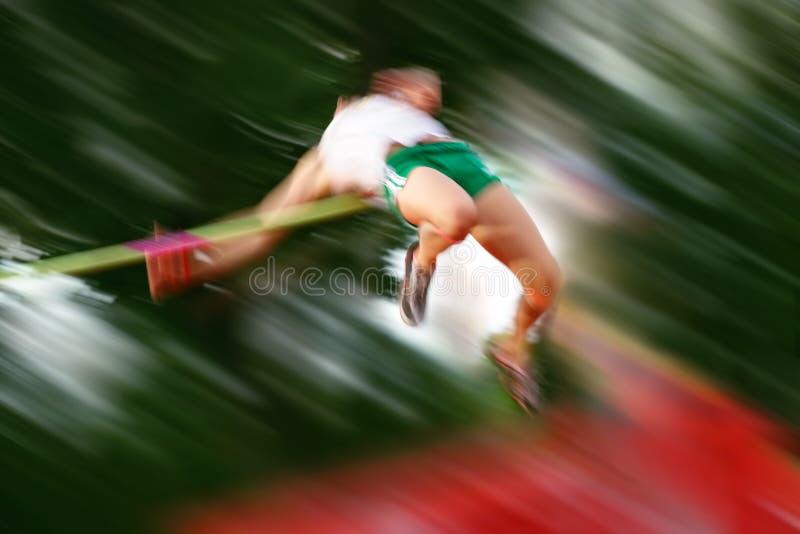движение высокого прыжка нерезкости стоковые фотографии rf
