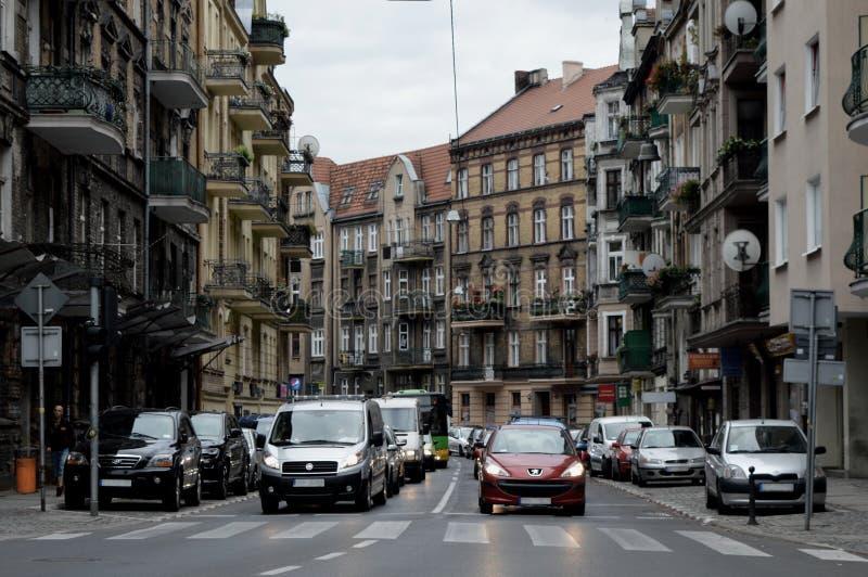 Движение в городе стоковые изображения rf