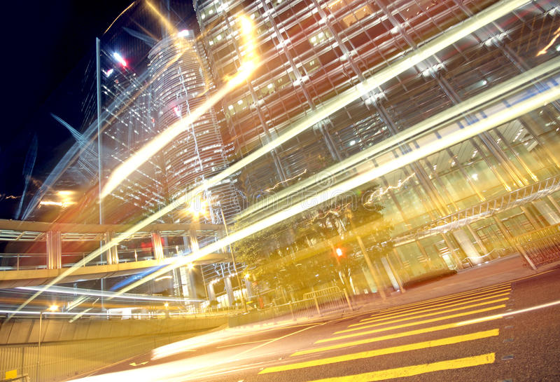 Движение в финансах урбанских стоковое изображение rf