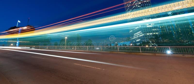 движение города стоковые изображения