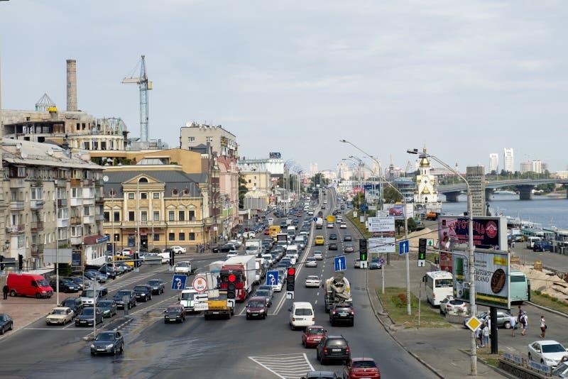 Движение города стоковое изображение