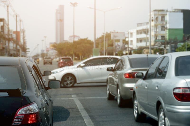 движение дороги варенья автомобилей стоковые фотографии rf