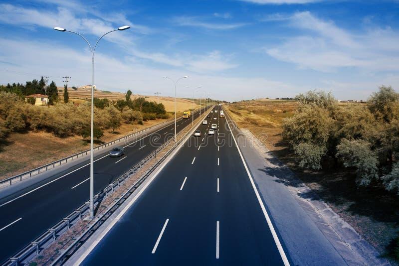 движение дороги стоковое изображение