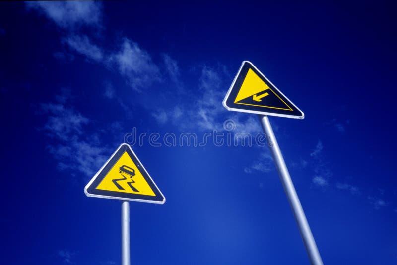 движение знаков стоковое изображение rf