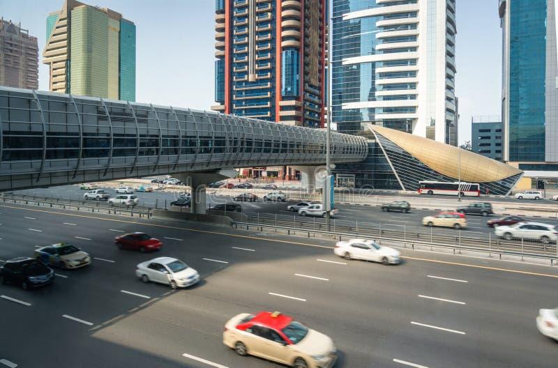 Движение на шоссе стоковая фотография