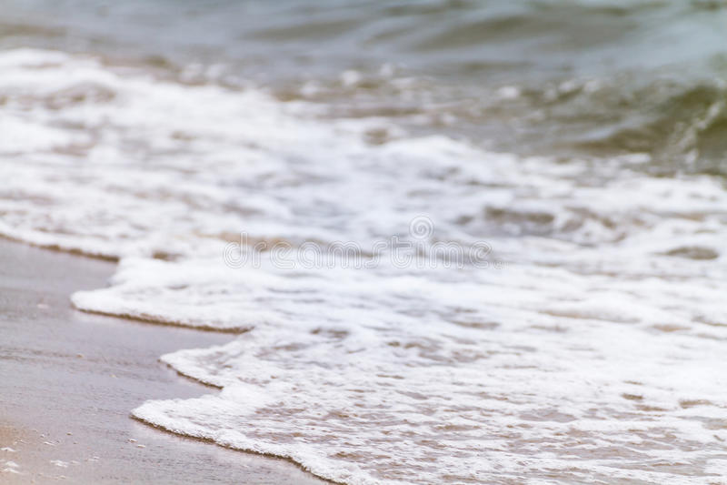 Движение нежной волны стоковые изображения