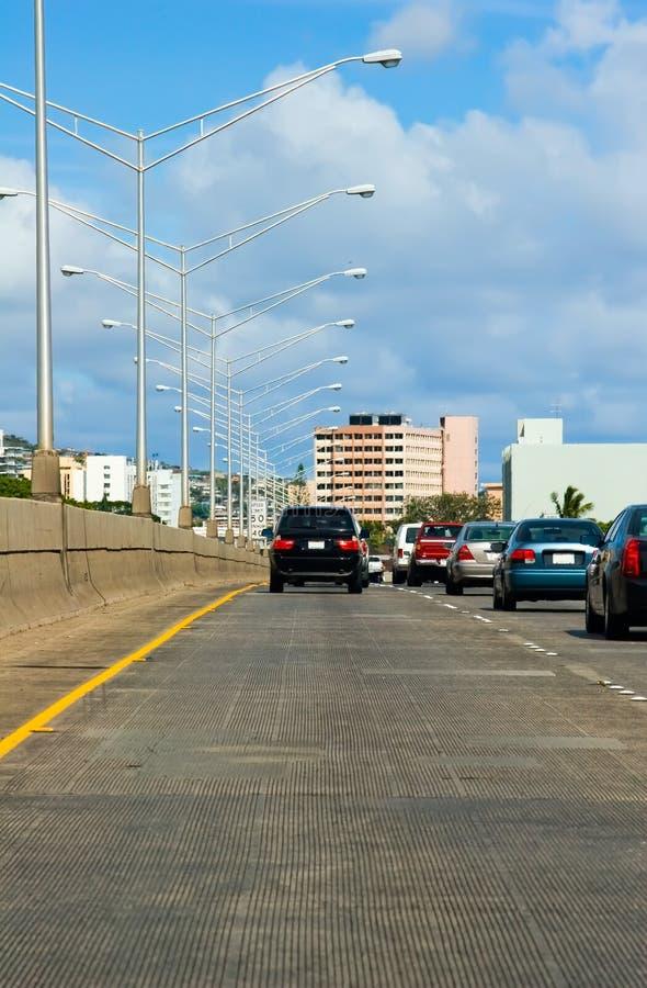 движение скоростного шоссе стоковые фото