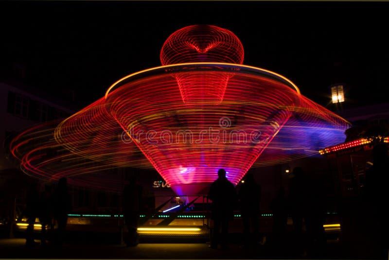 движение carousel стоковая фотография rf