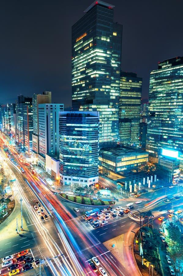 Движение Gangnam стоковое изображение