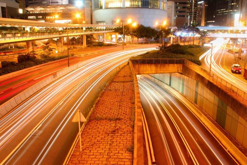 движение Hong Kong стоковая фотография rf