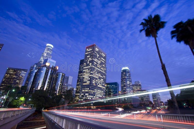 движение los города angeles стоковая фотография