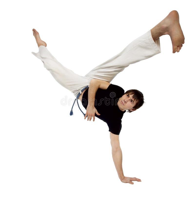 движения capoeira стоковые изображения
