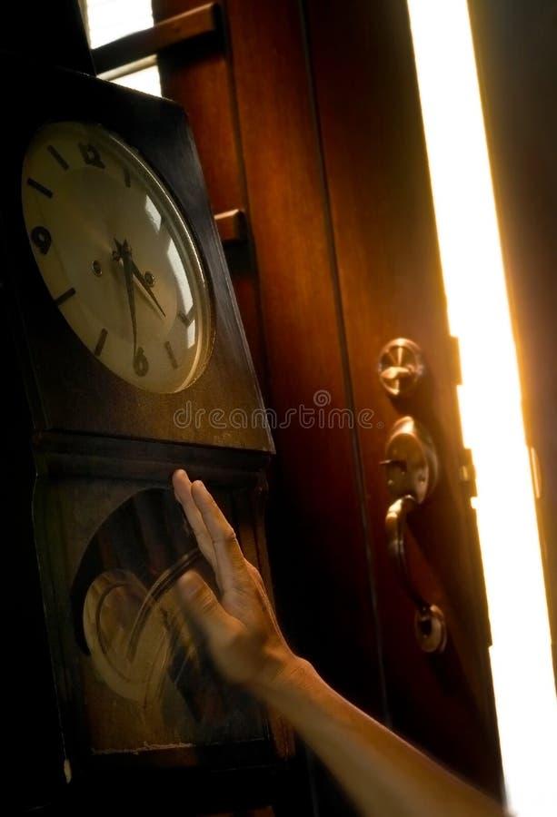 двиньте время к стоковое фото rf