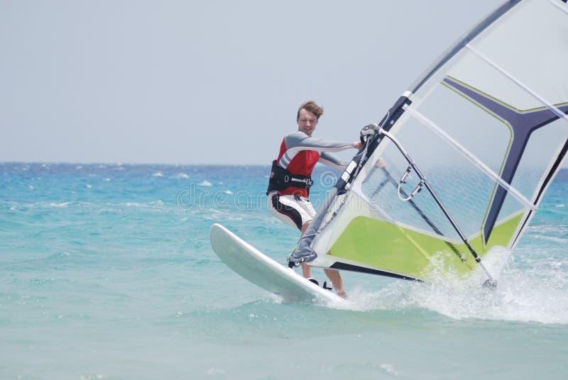 двиньте windsurfing стоковые фото