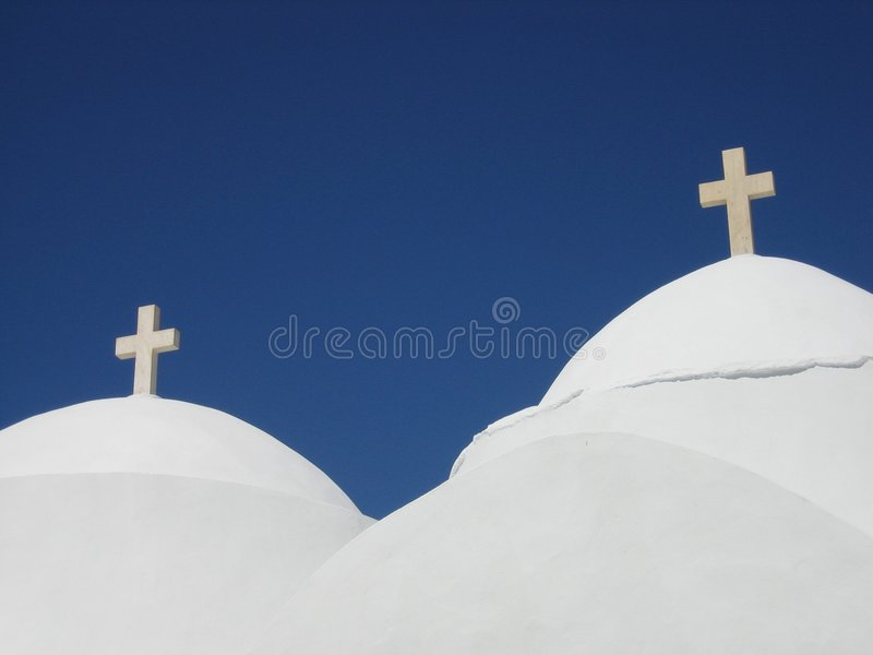 двойник купола стоковая фотография rf