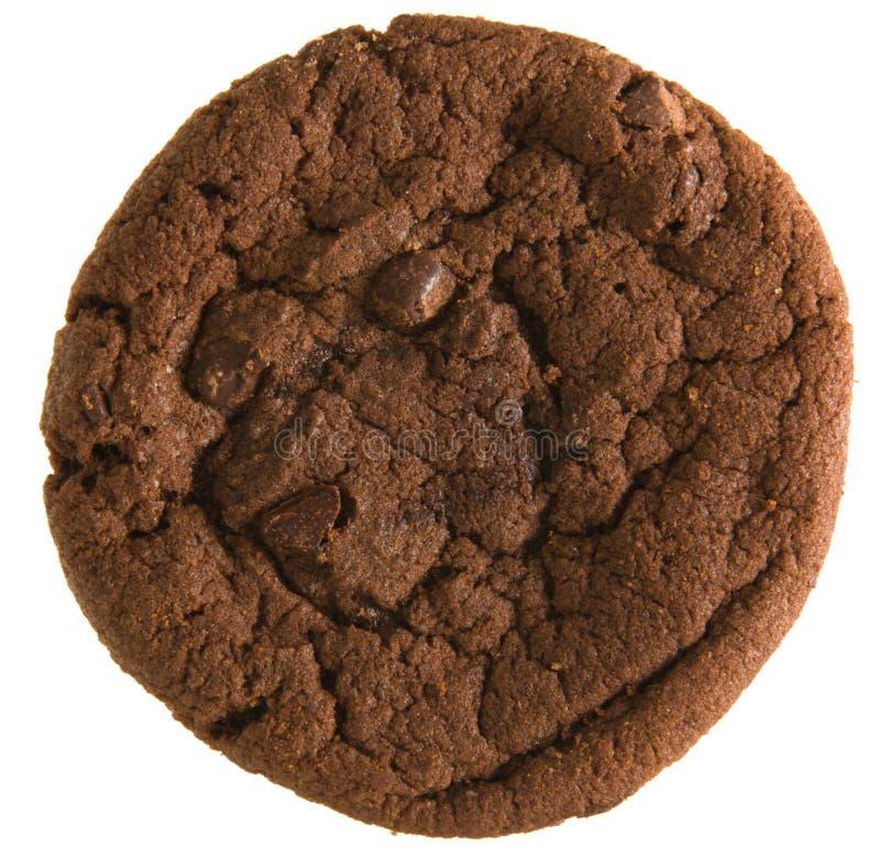 двойник печенья шоколада обломока стоковое изображение rf