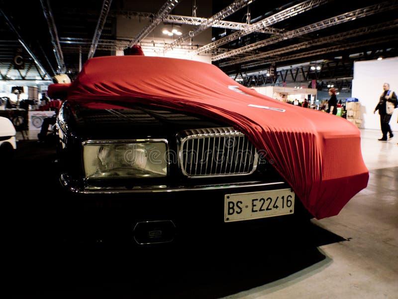 Двойник 6 Daimler на Милане Autoclassica 2016 стоковые фотографии rf