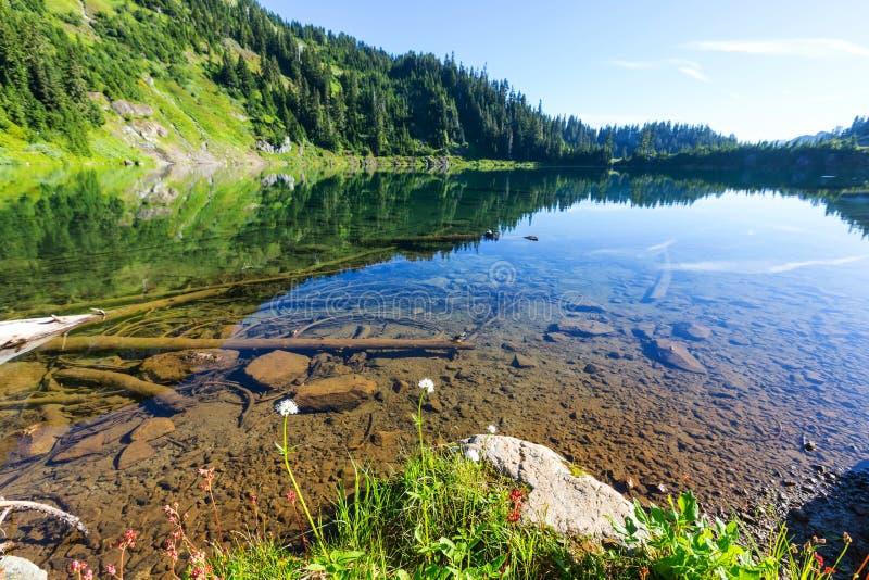 Двойное озеро стоковые изображения rf