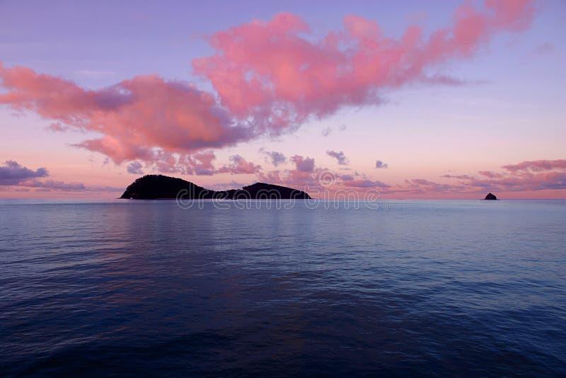 двойной остров стоковая фотография rf
