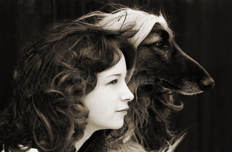 двойной портрет стоковое фото rf