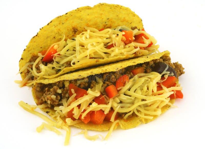 двойной taco стоковые изображения