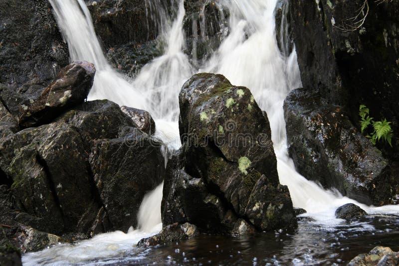 Двойные водопады стоковое изображение