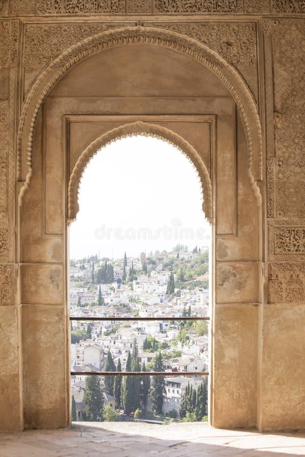 Дворец Альгамбра стоковая фотография rf