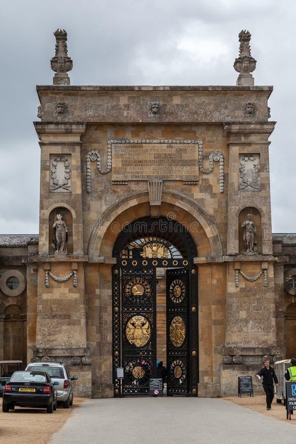 Дворец Англия Blenheim стоковая фотография