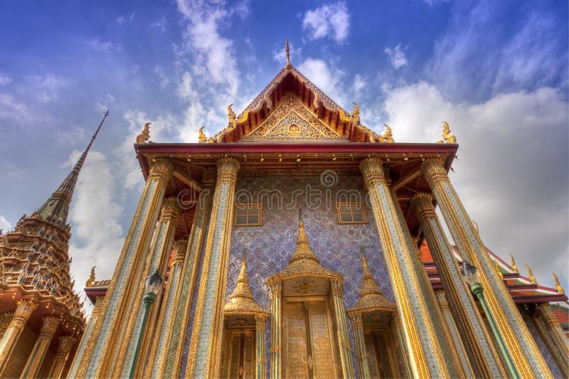 Дворец Бангкока королевский (HDR) стоковое фото rf