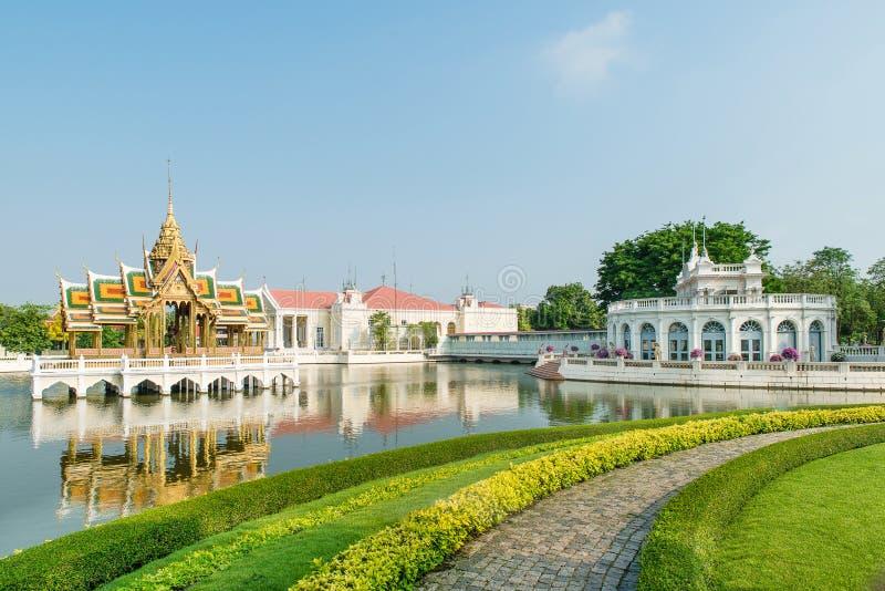 Дворец боли челки королевский, Ayutthaya, Таиланд стоковое изображение rf