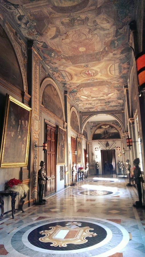 Дворец в Мальте стоковые изображения