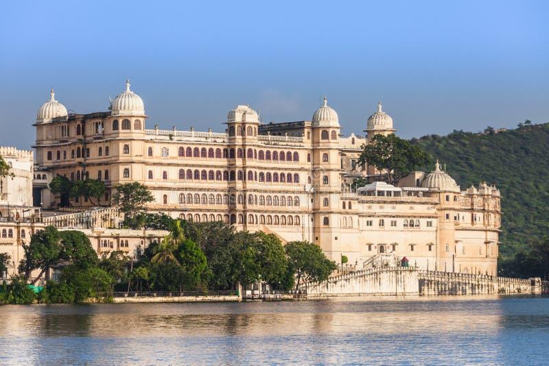 Дворец города Udaipur стоковое изображение