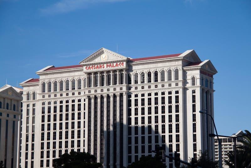 дворец гостиницы ceasers казино стоковое изображение
