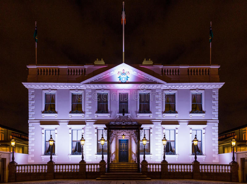 Дворец Дублина стоковая фотография