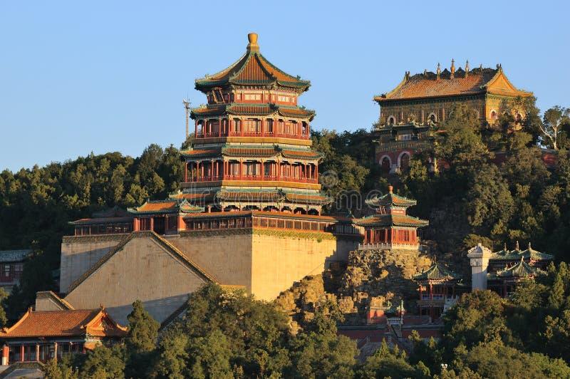 Дворец лета Пекин стоковое фото rf