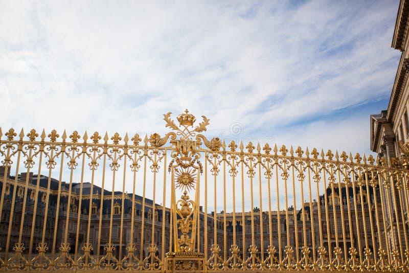 Дворец золотых стробов Версаль стоковое изображение rf