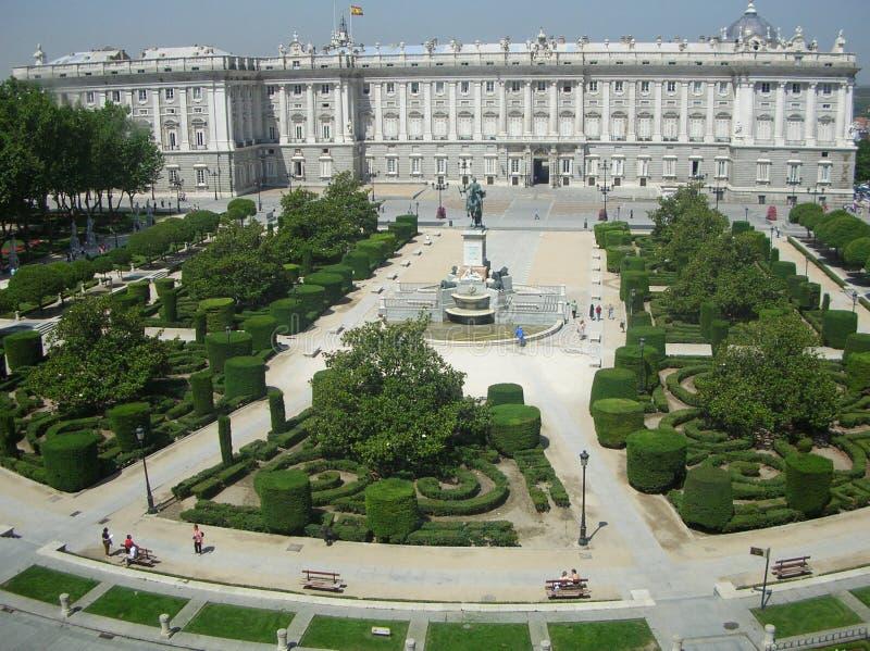 дворец Испания madrid стоковая фотография
