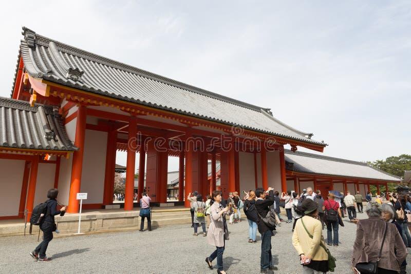 Дворец Киото имперский раскрывает к публике стоковые фото