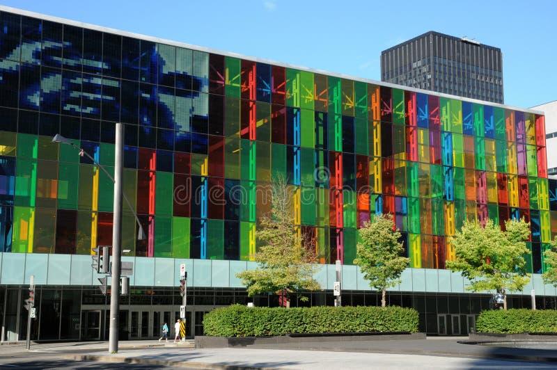 Дворец конгресса Монреаля стоковая фотография