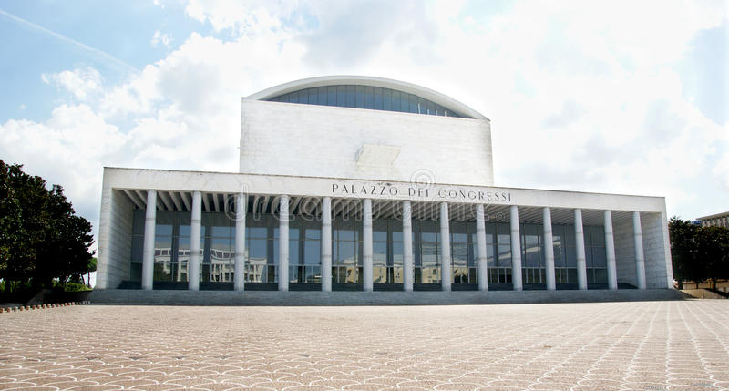 Дворец конгресса стоковые фотографии rf