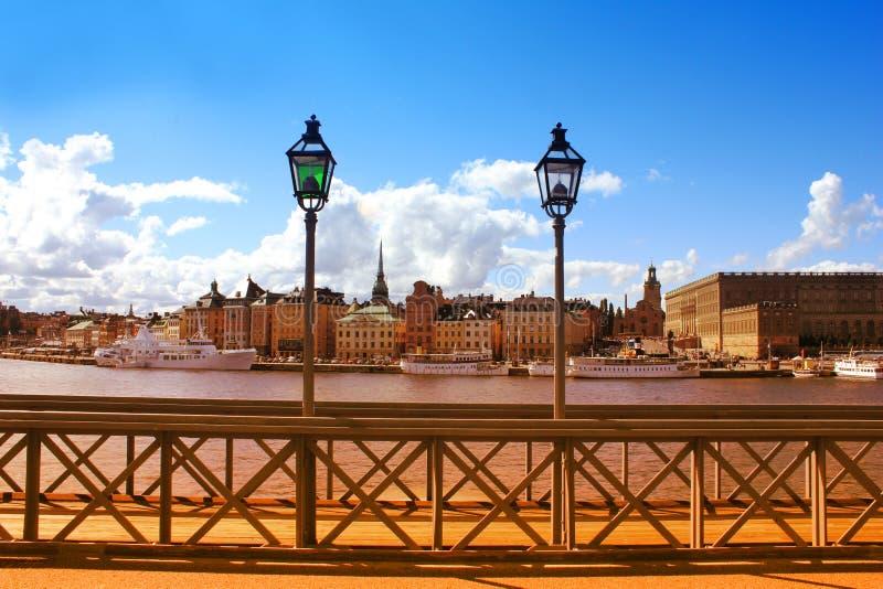 дворец королевский stockholm Швеция стоковая фотография