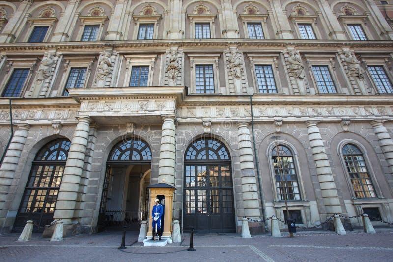 дворец королевский stockholm стоковые фотографии rf