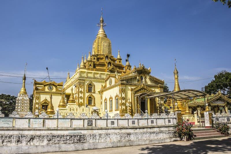 Дворец короля Loikaw стоковое изображение rf