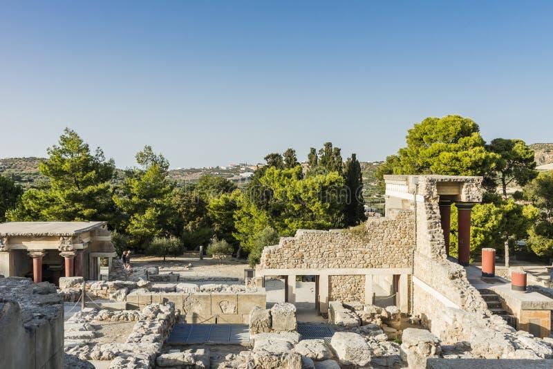 Дворец Крит Knossos стоковое фото rf